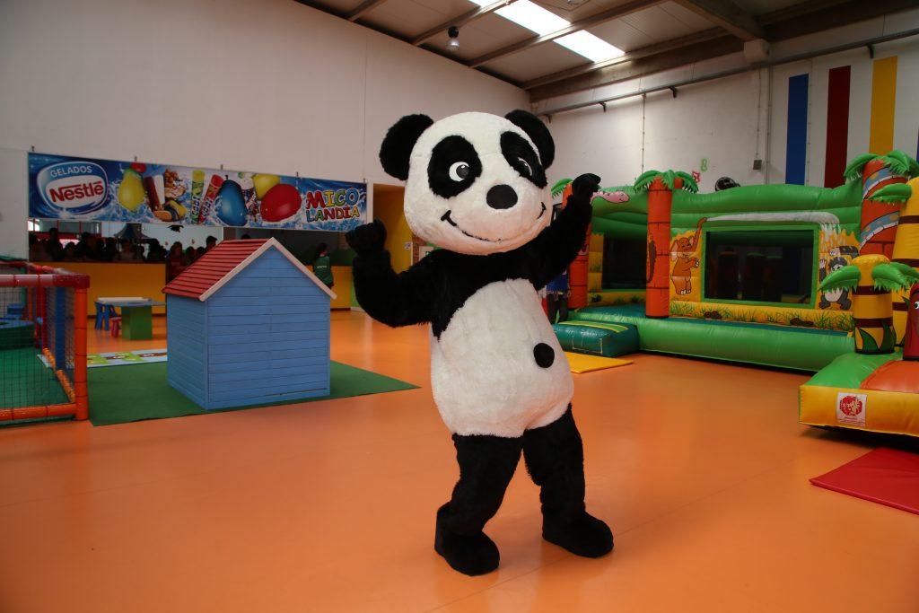 O Panda na Micolandia