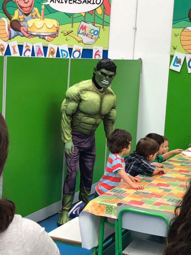 Figurino- Hulk